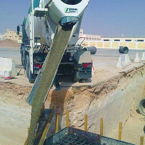 Storm sewer project, Al Kharj City