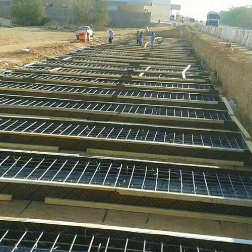 Maintenance and repair of pipe line Qassim