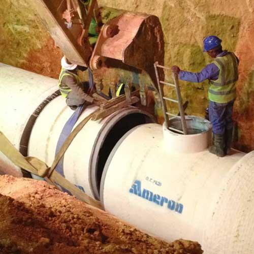 Storm sewer project, Qurtuba, Riyadh